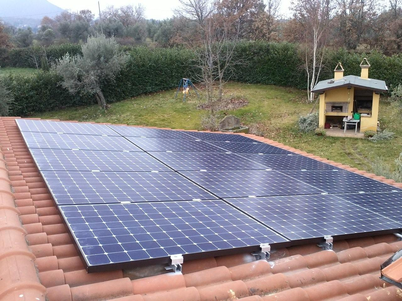 Impianto Fotovoltaico Lightland SunPower Viterbo
