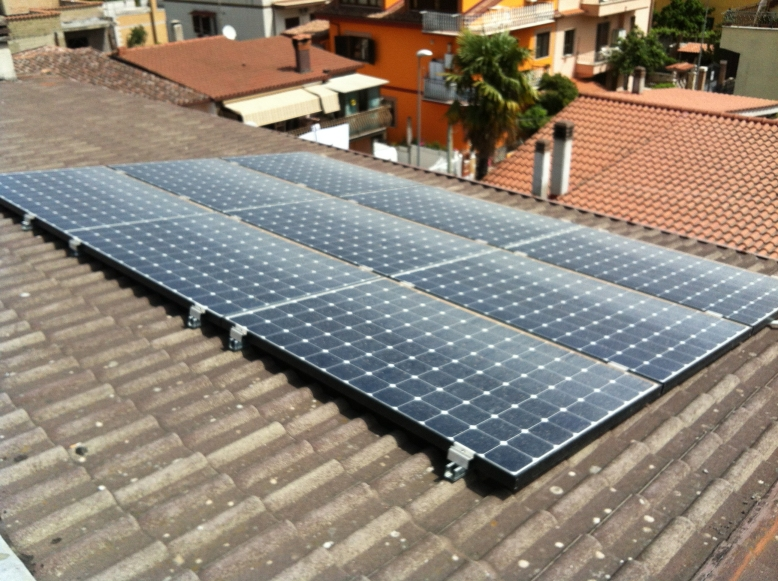 Impianto fotovoltaico Sunpower Lightland Guidonia